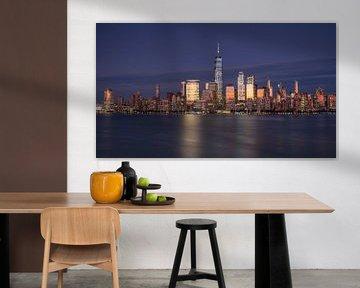 New York City Skyline Farbe von Marieke Feenstra