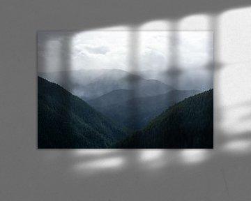 Regen in de bergen van Rauwworks