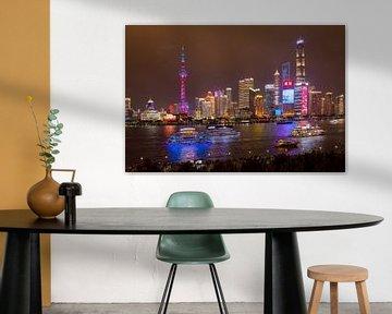 Shanghai adembenemende wereldstad van Lynxs Photography