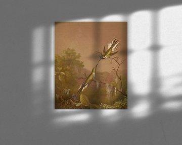 Brasilianische Kolibris II, Martin Johnson Heade