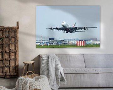 Airbus A380-800 von Wim Stolwerk