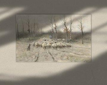 Schafherde auf dem Moor bei Laren, Anton Mauve