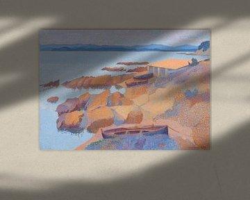 Küste bei Antibes, Henri-Edmond Kreuz