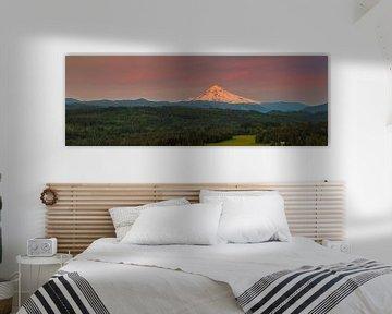 Jonsrud Aussichtspunkt in Richtung Mount Hood, Oregon
