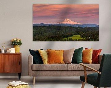 Sonnenaufgang Mount Hood, Oregon