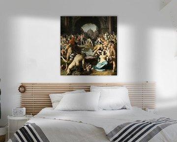 Das Massaker an den Unschuldigen, Cornelis van Haarlem.