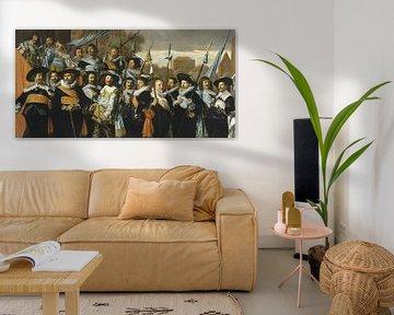Offiziere und Sergeants der St. George Bürgerwehr, Frans Hals