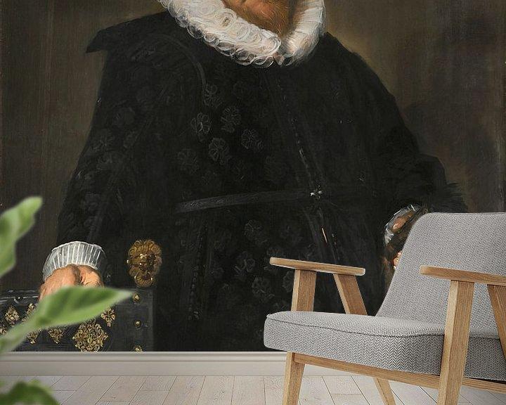 Beispiel fototapete: Porträt von Nicolaes van der Meer, Frans Hals