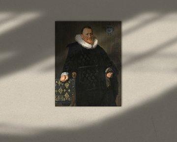 Porträt von Nicolaes van der Meer, Frans Hals
