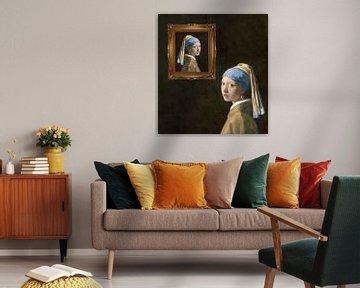 Perlen - Mädchen mit der Perle, Johannes Vermeer