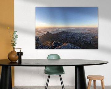 Kapstadt bei Sonnenuntergang von Dennis Eckert