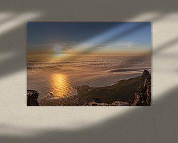 Das Meer bei Kapstadt bei Sonnenunterga von Dennis Eckert