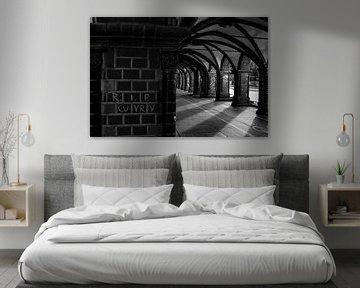 Oberbaumbrücke in B&W von Danny Verhalle