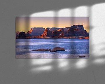 Lake Powell, Utah, Arizona, Vereinigte Staaten von Amerika