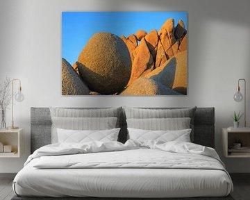 Jumbo Rocks im Joshua Tree Nationalpark, Kalifornien