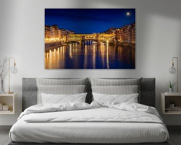 Florence Ponte Vecchio brug van Dennis Eckert