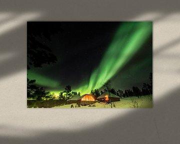Genießen Sie das Nordlicht von Karin Mooren