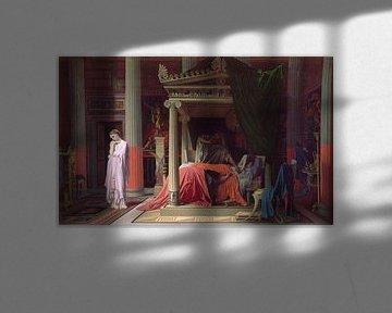 Die Krankheit von Antiochus, oder Antiochus und Stratonice, Jean Auguste Dominique Ingres