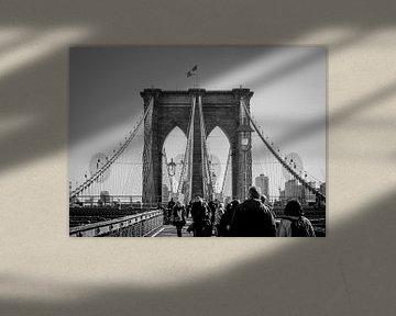 Brooklyn Brücke, New York City von Harm Roseboom