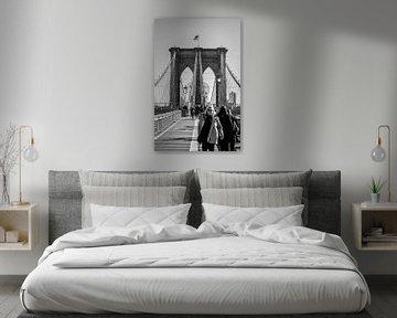 Brooklyn Bridge, New York City sur Harm Roseboom