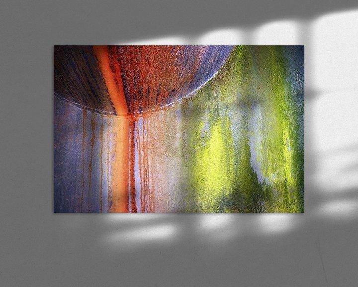 Impression: Acier coloré sur Jan Brons