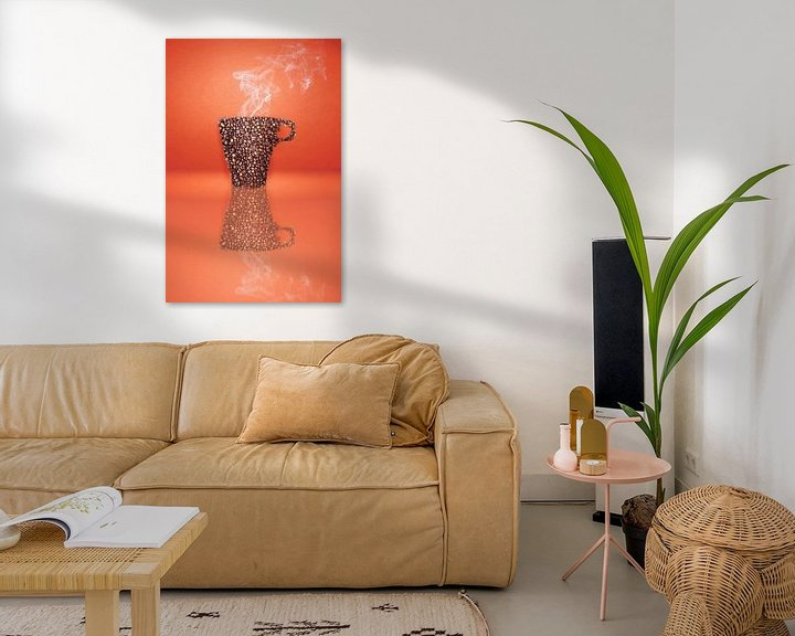 Sfeerimpressie: Coffee bean cup van Elianne van Turennout