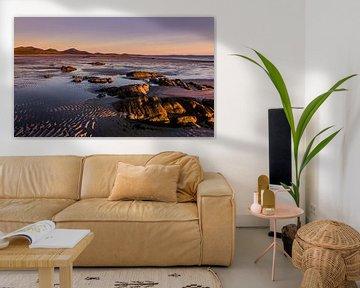 Outer Hebrides Sunset, Scotland van Adelheid Smitt