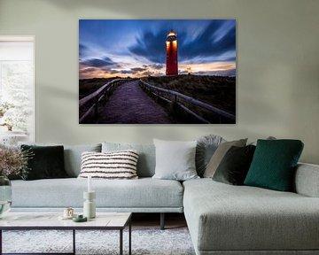 De vuurtoren van Texel in de ochtend van Pieter van Dieren (pidi.photo)