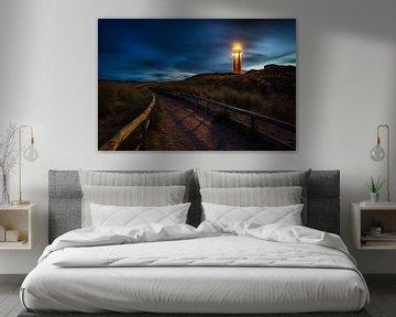 Le phare de Texel au matin sur Pieter van Dieren (pidi.photo)