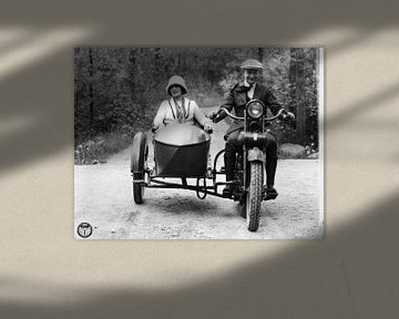 Seitenwagen Harley Davidson