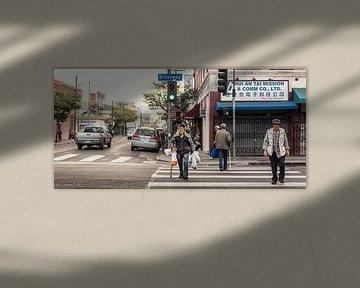 Los Angeles - Chinatown van Keesnan Dogger Fotografie