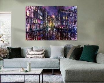 Art impression Amsterdam van Dennisart Fotografie