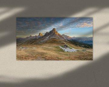 Passo di Giau Panorama (16:9) van Michael Valjak
