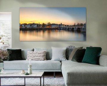 Maastricht Panorama von Michael Valjak