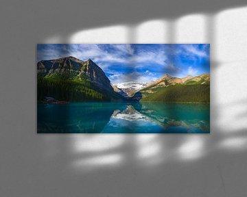 Lake Louise im Banff Nationalpark, Alberta, Kanada