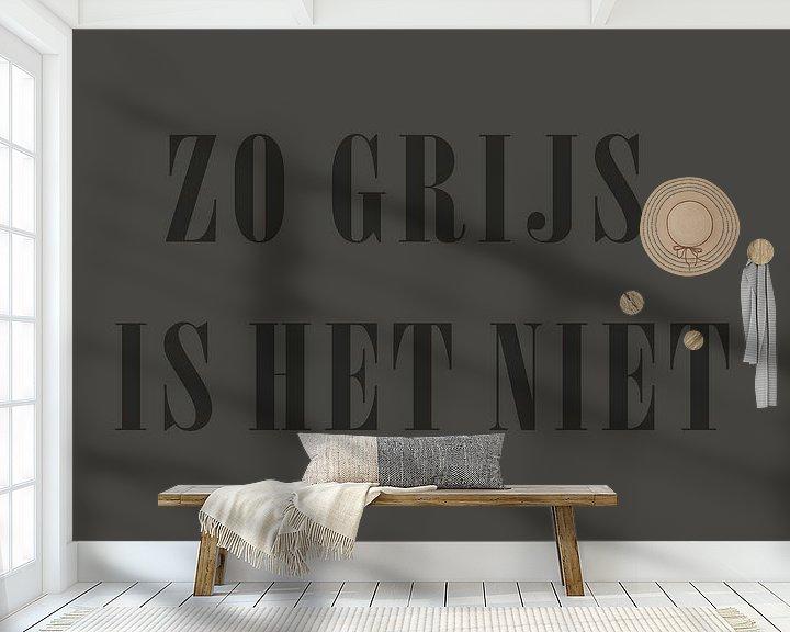 Beispiel fototapete: Grau ist es doch, oder? von Ellen Voorn