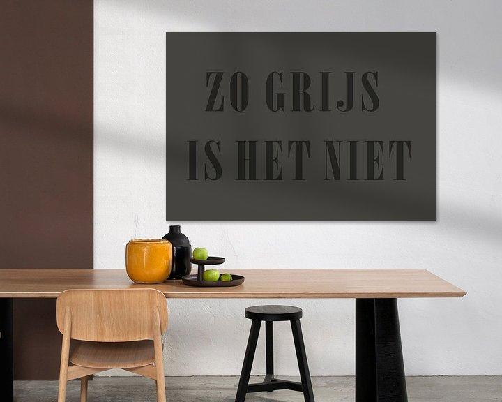 Beispiel: Grau ist es doch, oder? von Ellen Voorn