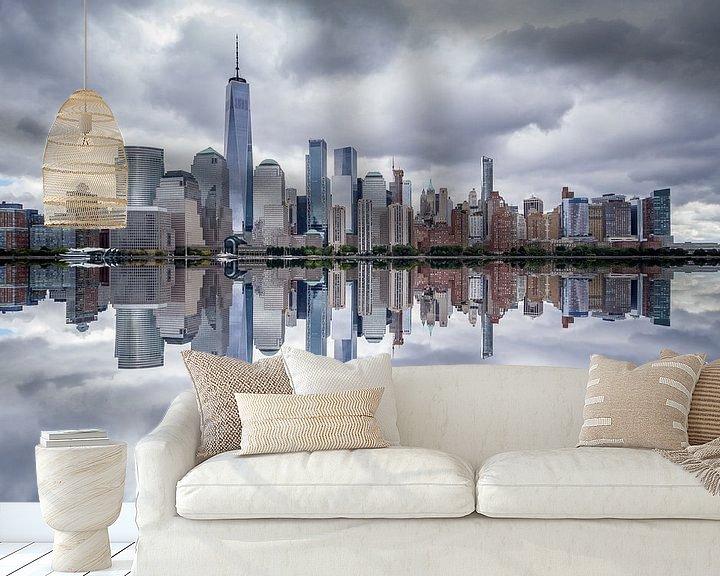 Sfeerimpressie behang: New York van Ralf Linckens