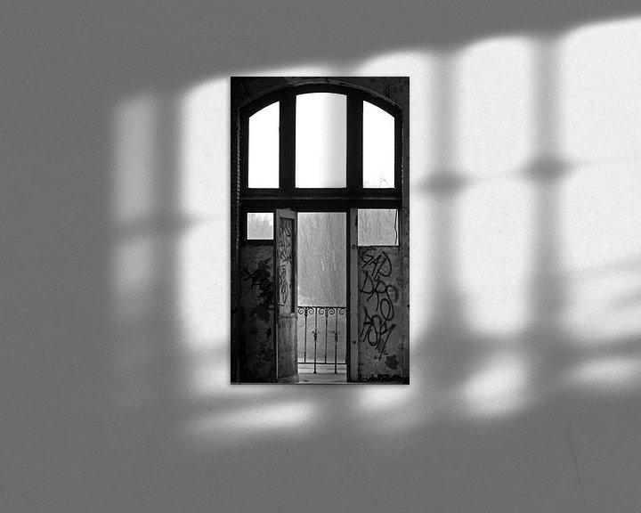 Beispiel: Door oude deuren von Ursula Cocheret de la Morinière