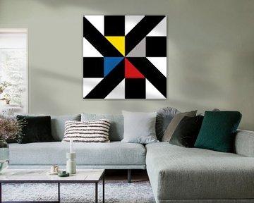 Mondrian inspiriert von Harry Hadders