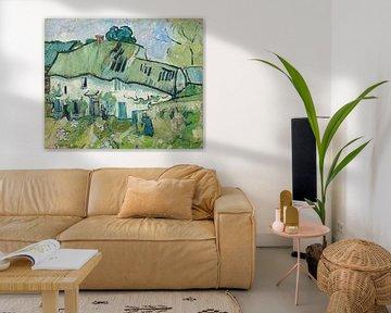 Bauernhaus mit zwei Figuren, Vincent van Gogh