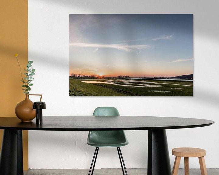 Beispiel: Sonnenuntergang in Driel von Daan van Oort
