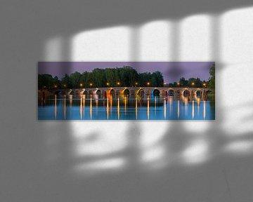 Panorama Östra Quelle, Karlstad, Schweden