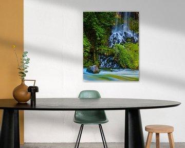 Mossbrae Wasserfall, Kalifornien, USA von Henk Meijer Photography