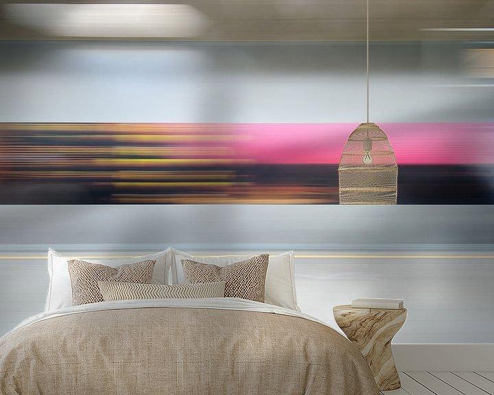 Sfeerimpressie behang: Abstracte fotografie 3 van Mark Bolijn