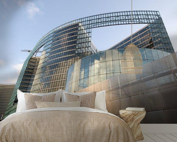 Sfeerimpressie behang: Moderne architectuur 3 van Mark Bolijn