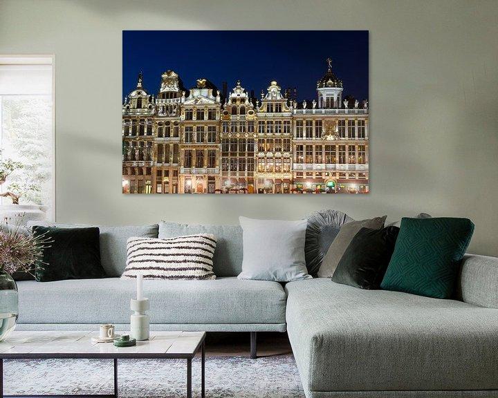 Sfeerimpressie: Grote Markt Brussel van Mark Bolijn