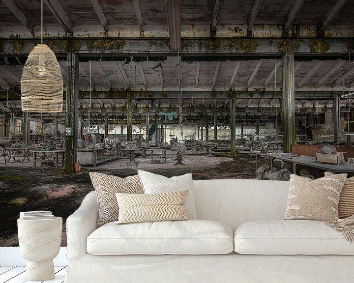 Beispiel fototapete: Alte Textilfabrik von Olivier Photography