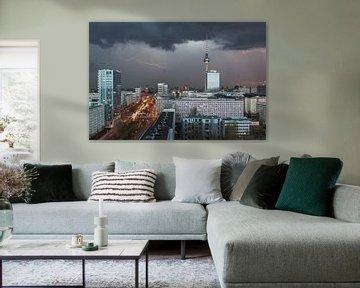 Gewitter über Berlin von Robin Oelschlegel