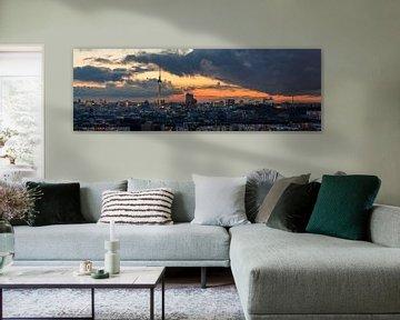 Berlin Panorama von Robin Oelschlegel